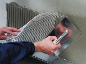 штукатурная стеклосетка в утеплении фасадов